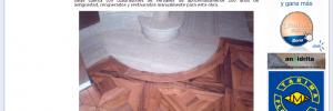 mejor obra residencial parquet mosaico