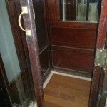 parquet madera ascensor