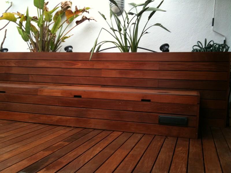 Proyectos park house studio parquet barcelona - Tarimas de madera para exteriores ...