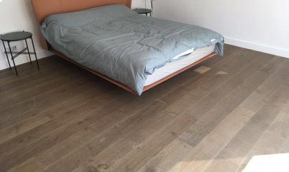 Tarima de madera maciza en duplex